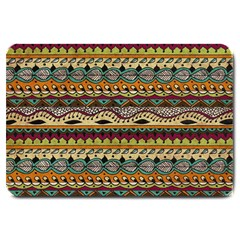 Aztec Pattern Ethnic Large Doormat