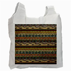 Aztec Pattern Ethnic Recycle Bag (one Side)