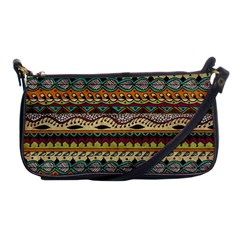 Aztec Pattern Ethnic Shoulder Clutch Bags