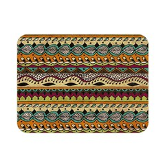Aztec Pattern Ethnic Double Sided Flano Blanket (mini)