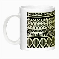 Aztec Pattern Design Night Luminous Mugs