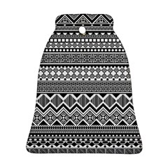 Aztec Pattern Design Bell Ornament (two Sides)