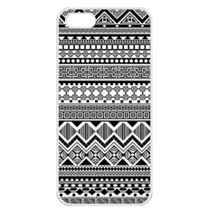 Aztec Pattern Design Apple Iphone 5 Seamless Case (white)