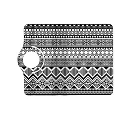 Aztec Pattern Design Kindle Fire Hd (2013) Flip 360 Case