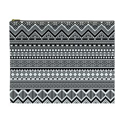 Aztec Pattern Design(1) Cosmetic Bag (xl)