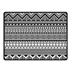 Aztec Pattern Design(1) Fleece Blanket (small)