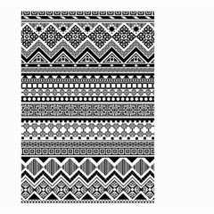 Aztec Pattern Design(1) Small Garden Flag (two Sides)