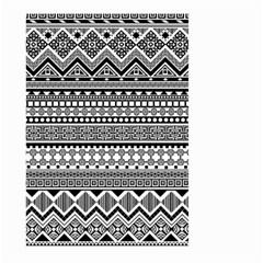 Aztec Pattern Design(1) Large Garden Flag (two Sides)