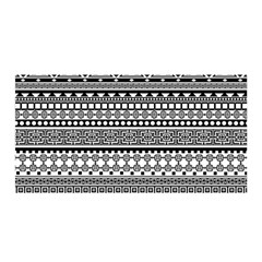 Aztec Pattern Design(1) Satin Wrap
