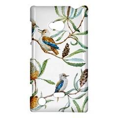 Australian Kookaburra Bird Pattern Nokia Lumia 720