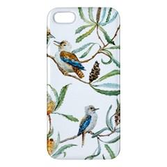 Australian Kookaburra Bird Pattern Iphone 5s/ Se Premium Hardshell Case