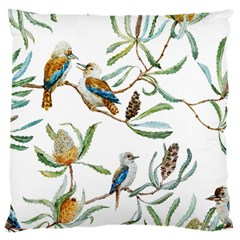 Australian Kookaburra Bird Pattern Standard Flano Cushion Case (one Side)