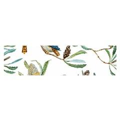 Australian Kookaburra Bird Pattern Satin Scarf (oblong)