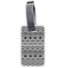 Aztec Design  Pattern Luggage Tags (one Side)