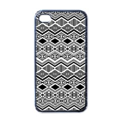 Aztec Design  Pattern Apple Iphone 4 Case (black)