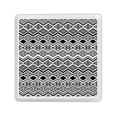 Aztec Design  Pattern Memory Card Reader (square)