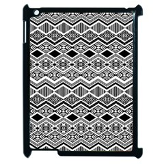 Aztec Design  Pattern Apple Ipad 2 Case (black)