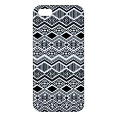 Aztec Design  Pattern Iphone 5s/ Se Premium Hardshell Case