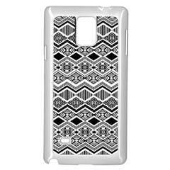 Aztec Design  Pattern Samsung Galaxy Note 4 Case (white)