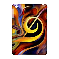 Art Oil Picture Music Nota Apple Ipad Mini Hardshell Case (compatible With Smart Cover)