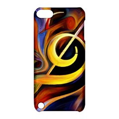 Art Oil Picture Music Nota Apple Ipod Touch 5 Hardshell Case With Stand