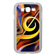 Art Oil Picture Music Nota Samsung Galaxy Grand Duos I9082 Case (white)