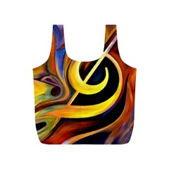 Art Oil Picture Music Nota Full Print Recycle Bags (s)