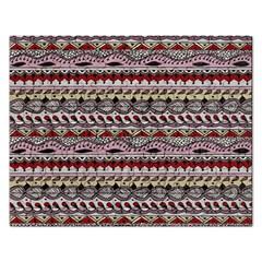 Aztec Pattern Art Rectangular Jigsaw Puzzl