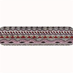 Aztec Pattern Art Large Bar Mats