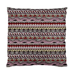 Aztec Pattern Art Standard Cushion Case (two Sides)