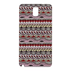 Aztec Pattern Art Samsung Galaxy Note 3 N9005 Hardshell Back Case
