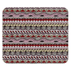 Aztec Pattern Art Double Sided Flano Blanket (small)