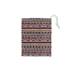 Aztec Pattern Art Drawstring Pouches (xs)