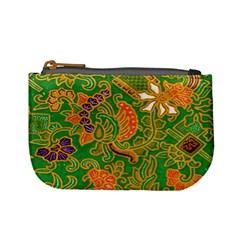 Art Batik The Traditional Fabric Mini Coin Purses