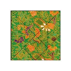 Art Batik The Traditional Fabric Acrylic Tangram Puzzle (4  X 4 )