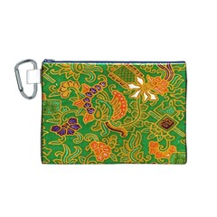 Art Batik The Traditional Fabric Canvas Cosmetic Bag (m)
