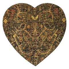 Art Indonesian Batik Jigsaw Puzzle (heart)