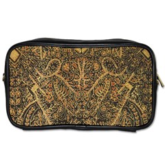 Art Indonesian Batik Toiletries Bags 2 Side