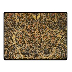 Art Indonesian Batik Fleece Blanket (small)
