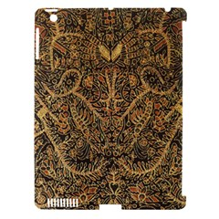 Art Indonesian Batik Apple Ipad 3/4 Hardshell Case (compatible With Smart Cover)