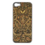 Art Indonesian Batik Apple iPhone 5 Case (Silver) Front