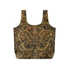 Art Indonesian Batik Full Print Recycle Bags (s)