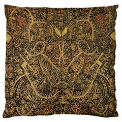 Art Indonesian Batik Standard Flano Cushion Case (two Sides)
