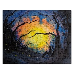 Soul Offering Rectangular Jigsaw Puzzl