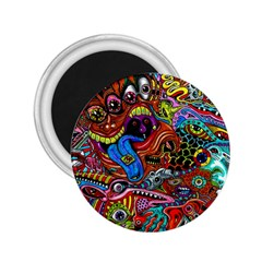 Art Color Dark Detail Monsters Psychedelic 2 25  Magnets