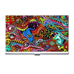 Art Color Dark Detail Monsters Psychedelic Business Card Holders
