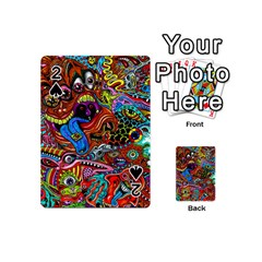 Art Color Dark Detail Monsters Psychedelic Playing Cards 54 (mini)