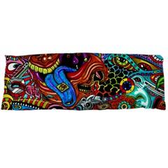 Art Color Dark Detail Monsters Psychedelic Body Pillow Case (dakimakura)