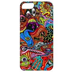 Art Color Dark Detail Monsters Psychedelic Apple Iphone 5 Classic Hardshell Case