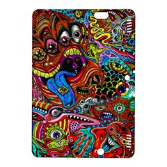 Art Color Dark Detail Monsters Psychedelic Kindle Fire Hdx 8 9  Hardshell Case